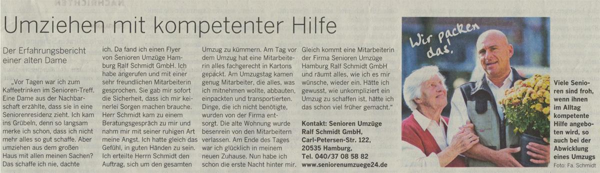 Hamburger Abendblatt Seniorenumzüge
